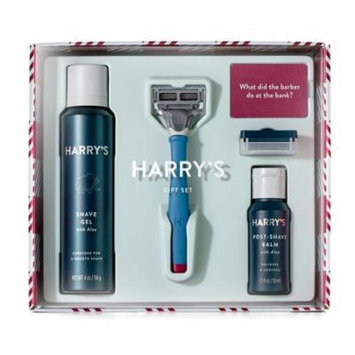 Harry's Holiday Men's Shave Set with Frost Handle (Limited Edition)