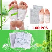 100 pcs Detox Foot Patches, Finlon Detox Foot Pads Foot Detox Pads Foot Pads Detox Patches Body Detox Body Cleanse Patches Cleansing Detox Foot Pads Stress Relief