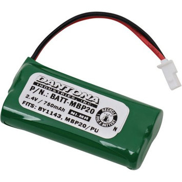 Ultralast 2.4 Volt Nickel Metal Hydride Replacement Baby Monitor Battery for Motorola BY1143