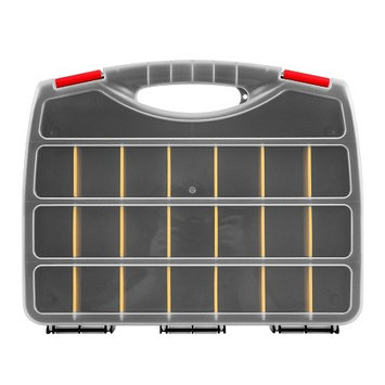 Adg Sports ADG Parts Organizer Box w/ 23 Compartments 1.0 ea (Pack of 6)
