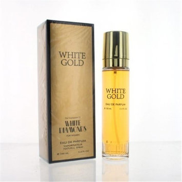 Perfect Star ZZWPSWHITEGOLD34P White Gold By Perfect Star 3.4 oz. Eau De Parfum Spray