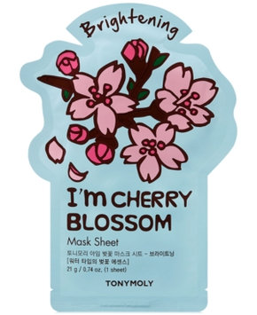Tonymoly I'm Real Sheet Mask - Cherry Blossom (Brightening)