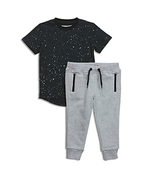 Sovereign Code Boys' Speckled Tee & Joggers Set - Baby