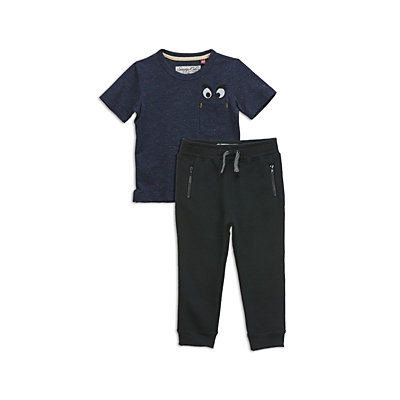 Sovereign Code Boys' Embroidered Tee & Joggers Set - Baby