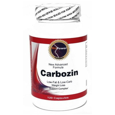 Carbozin Carb Blocker and Fat Blocker with active ingredients White Kidney Bean Extract, Gymnema Sylvestris, Guarana, Coleus Forskolii, Chromium Polynicotinate 120 CAPSULES