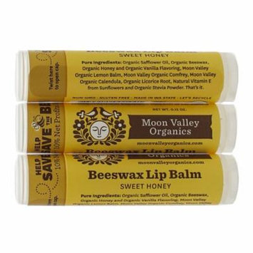 Moon Valley Organics - Beeswax Lip Balm Sweet Honey MV0010