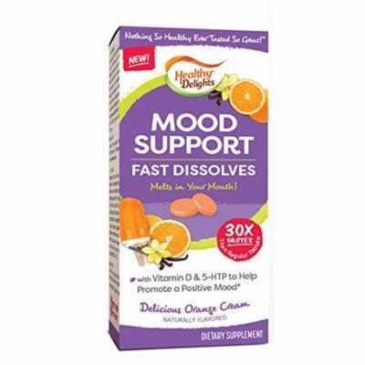 Healthy Delights Mood Support Fast Dissolves Orange Cream Flavor, 126 Ct