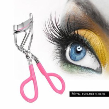 Girls Women Metal And Silicone Cushion Ring High Level Eyelash Curling Curler Mascara Beauty Eyelash Curlers for Lady