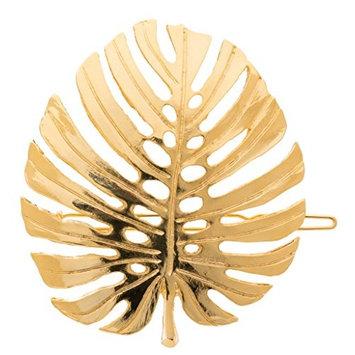 L. Erickson Leaf Tige Boule Barrette - G