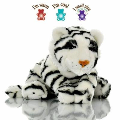 Sootheze Tiger - Weighted Sensory Microwavable Stuffed Animal - Hot & Cold Therapy - Perfect for Autism. ADHD. Occupational Therapy