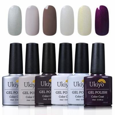 Ukiyo UV Multicolor Gelpolish Set 10ml Long Lasting Varnish Nail Art Kit 06