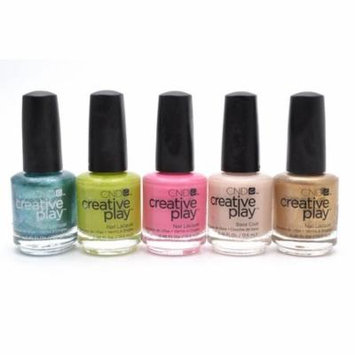 ative Play Nail Lacquer set of 5: Sea the Light, Toe the Lime, Sexy + I Know It, Base Coat, Lets Go Antiquing (each .46 Fl Oz.)