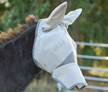 Cashel Crusader Mule Fly Mask with Long Nose and Ears