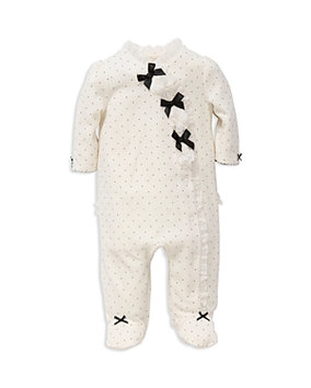 Little Me Girls' Bow Footie - Baby