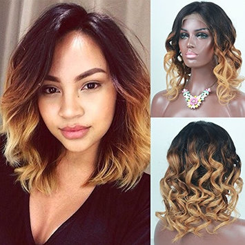RosesAngel Short Wigs for Black Women Brazilian Lace Front Wigs with Baby Hair Glueless Full Lace Bob Human Hair Wig 10