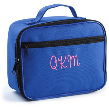 Personalized Blue Lunch Bag