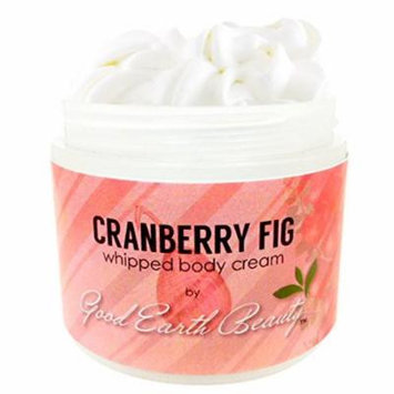Body Cream Cranberry Fig Natural By Good Earth Beauty