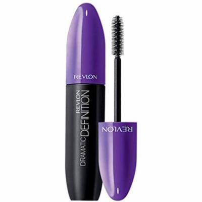 4 Pack - Revlon Dramatic Definition Waterproof Mascara, Blackest Black 0.28 oz