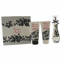 WOMEN EAU DE PARFUM SPRAY 1 OZ & BODY LOTION 1.6 OZ & SHOWER GEL 1.6 OZ CHRISTINA AGUILERA