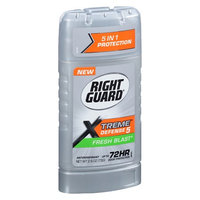 Right Guard Xtreme Defense 5, Antiperspirant & Deodorant Invisible Solid Fresh Blast 2.6 oz.(pack of 4)