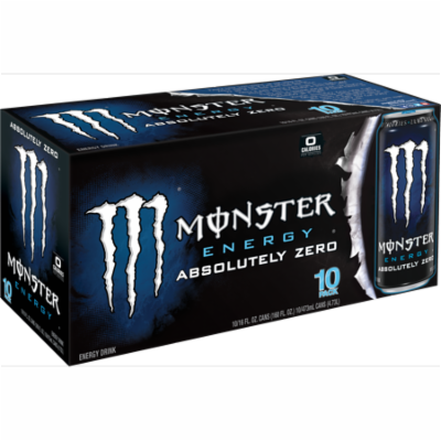 (20 Cans)Monster Absolutely Zero Energy Drink, 16 Fl Oz