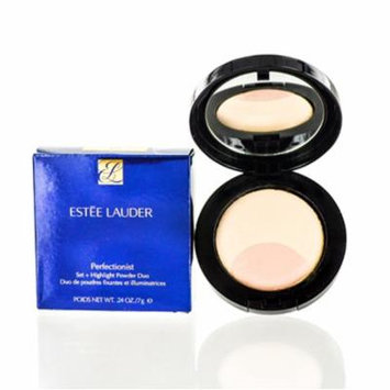 ESTEE LAUDER PERFECTIONIST SET+HIGHLIGHT POWER DUO COMPACT MAKEUP 01 .24 OZ 8 ML