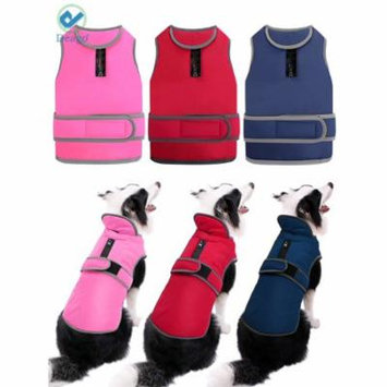 Deago Small Dog Vest Jacket Padded Coat Sweater Warm Dog Clothes Pet Cold Weather Apparels