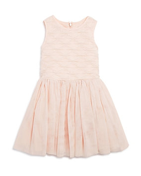 Pippa & Julie Girls' Textured Tutu Dress - Little Kid