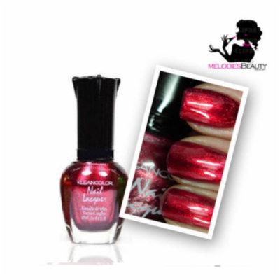 LWS LA Wholesale Store 12 Kleancolor METALLIC Nail Polish Lacquer 15mL Choose Shade NEW GOLD BLACK 705 (161 Metallic Red)