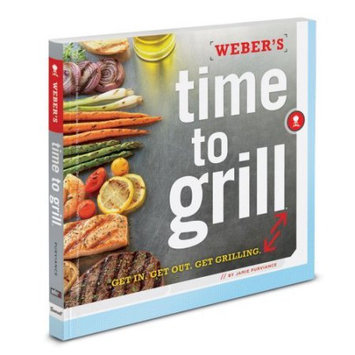 Weber-stephen Products Co. Time To Grill Cookbook 7604 by Weber