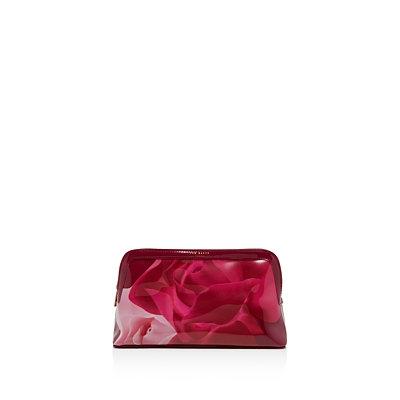 Ted Baker Porcelain Rose Makeup Bag, Maroon