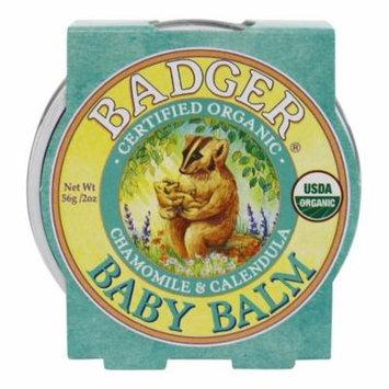Badger - Baby Balm Chamomile & Calendula - 2 oz.(pack of 2)
