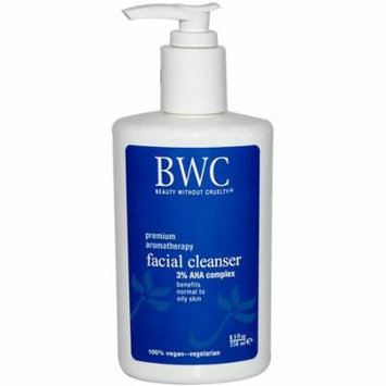 Beauty Without Cruelty, Facial Cleanser, 3% AHA Complex, 8.5 fl oz(pack of 3)