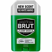 Brut Deodorant Clear Shield 2.25 oz.(pack of 6)