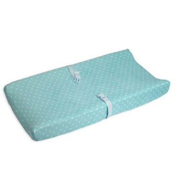 Carter's Print Changing Pad Cover, Turquoise/Blue (Turq/Aqua)