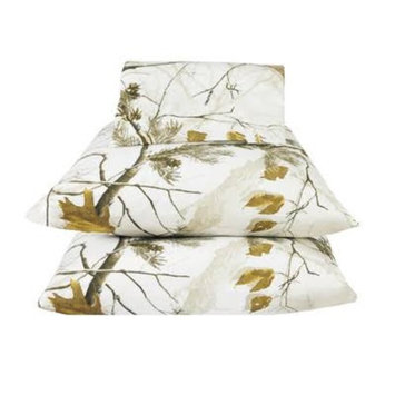 Real Tree All Purpose Black King Size Sheet Set by Kimlor