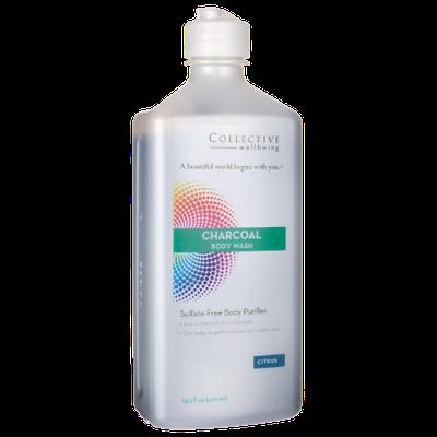 Charcoal Body Wash Citrus Life Flo Health Products 14.5 fl oz Liquid