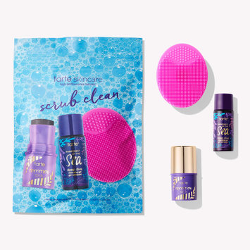 tarte Scrub Clean Cleansing Set