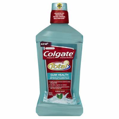 Colgate Total Gum Health Mouthwash Clean Mint 33.8 oz.(pack of 2)