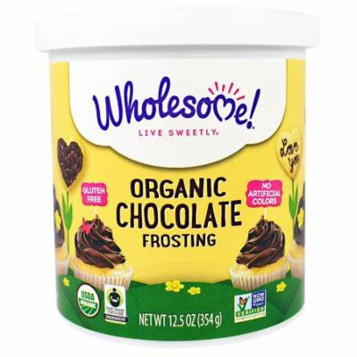 Wholesome Sweeteners, Inc., Organic Chocolate Frosting, 12.5 oz(pack of 2)