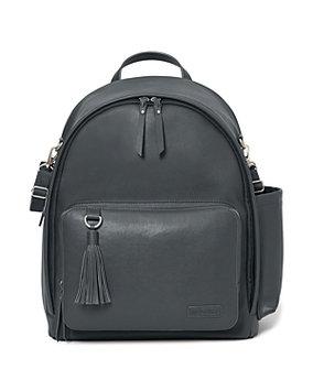 Skip Hop Greenwich Simply Chic Backpack Diaper Bag - Smoke