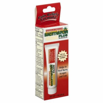 First Aid Research Bacitraycin Plus Pain Relief Ointment, 1 oz