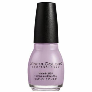 SinfulColors Nail Polish, Lie Lac, 0.5 Fl Oz (Pack of 8)
