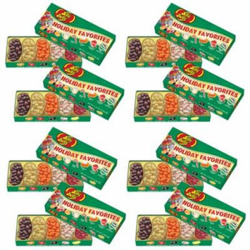 (Set/8) Jelly Belly Holiday Favorites Boxes w/ 4.25oz Jelly Beans Per Box