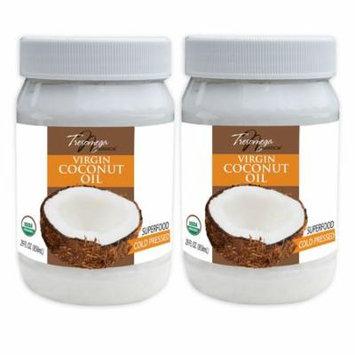 Tresomega Nutrition Organic Virgin Coconut Oil (29 oz., 2 pk.)