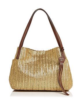 Eric Javits Women's Fashion Designer Aura Handbag in Caper