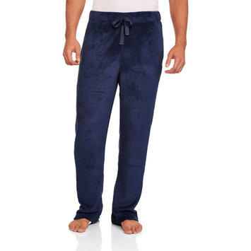 Big Men's Solid Plush Sleep Pants
