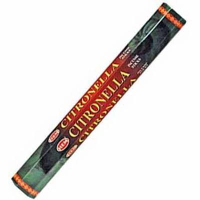 AzureGreen Citronella Warding Off Cleansing Healing Incense Aromatherapy HEM Stick 20 Pack