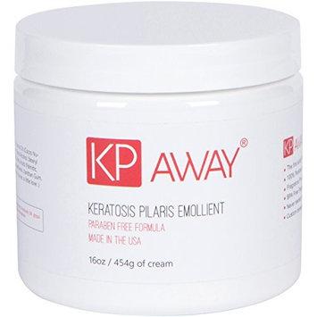 KPAway - Organic, Baby Friendly, Acid Free Keratosis Pilaris Emollient, 16oz / 454g, Made in USA