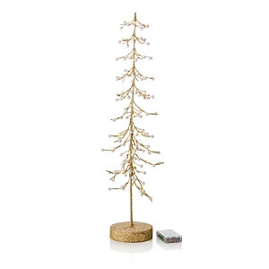 Bloomingdale's Bloomingdales Light Up Gold Wire Tree, 25 - 100% Exclusive
